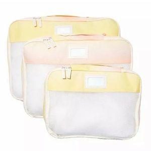 Calpak: Mesh Travel Packing Cubes-Set Of 3 (NWOT)